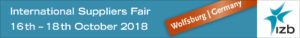 IZB 2018 - We will be waiting for you in Hall 5 / Stand 5235.