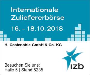 Logo IZB - die Internationale Zulieferbörse