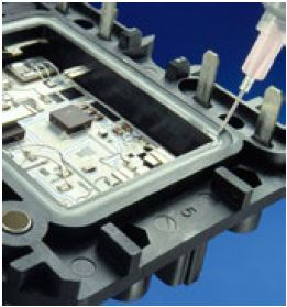 Blog picture 04 - Electric Vehicle Applications Silicones - Dowsil - Advanced Silicone Materials for Electric Vehicle Applications – PCB and Systems Assembly (Image courtesy of Dow and DDP)