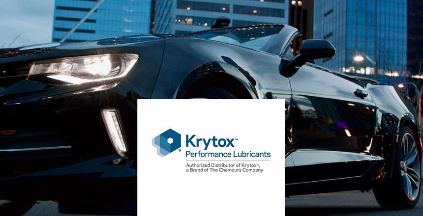 Blog picture 1 - Krytox - Performance Lubricants – Bessere Fahrzeugleistung durch Auswahl der richtigen Schmierstoffe