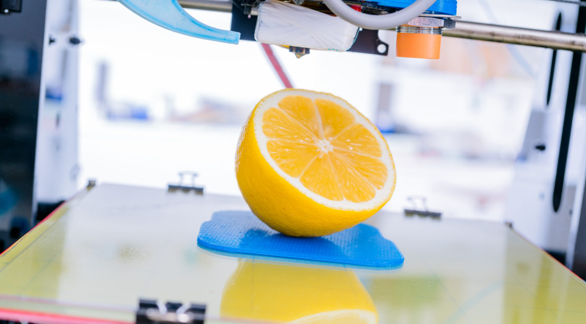 3D printing for foodstuffs