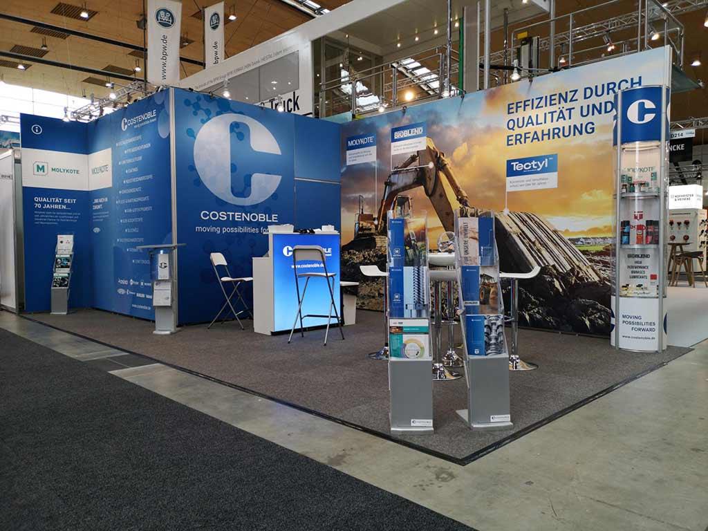 NUFAM 2019: Costenoble auf der Nutzfahrzeugmesse in Karlsruhe vom 26. bis 29. September 2019 - Halle 2, Stand D 214