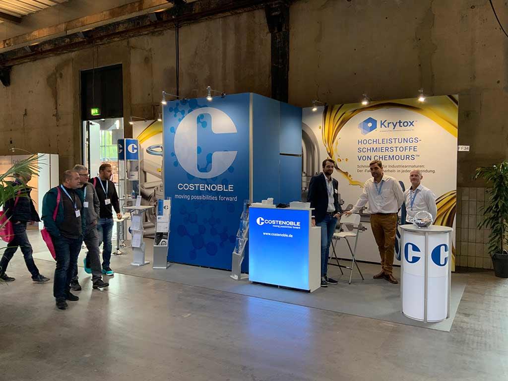 DIAM 2019: Costenoble auf der Deutschen Fachmesse für Industriearmaturen in Bochum vom 09. - 10.10.2019 - Standnummer FF 34 v1