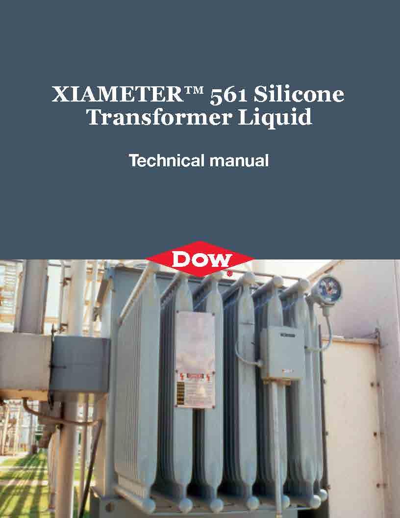 Dow - XIAMETER 561 - Silicone Transformer Liquid - Technical manual