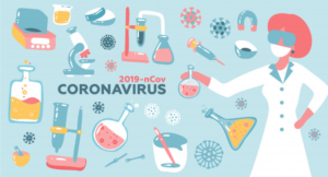 Picture about the note on the coronavirus - Lets stop 2010-nCov ©freepik.com, Author: lanasham