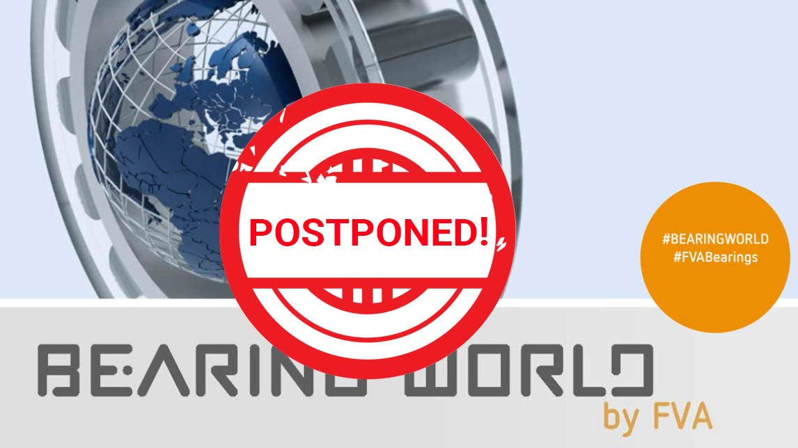 Congress Bearing World Postponed by Half a Year
