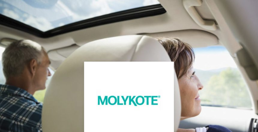 Blog picture 01 – Schmierung von Schiebedach-Führungen mit MOLYKOTE® – Sunroof Guide Lubrication With MOLYKOTE Specialty PAO Grease