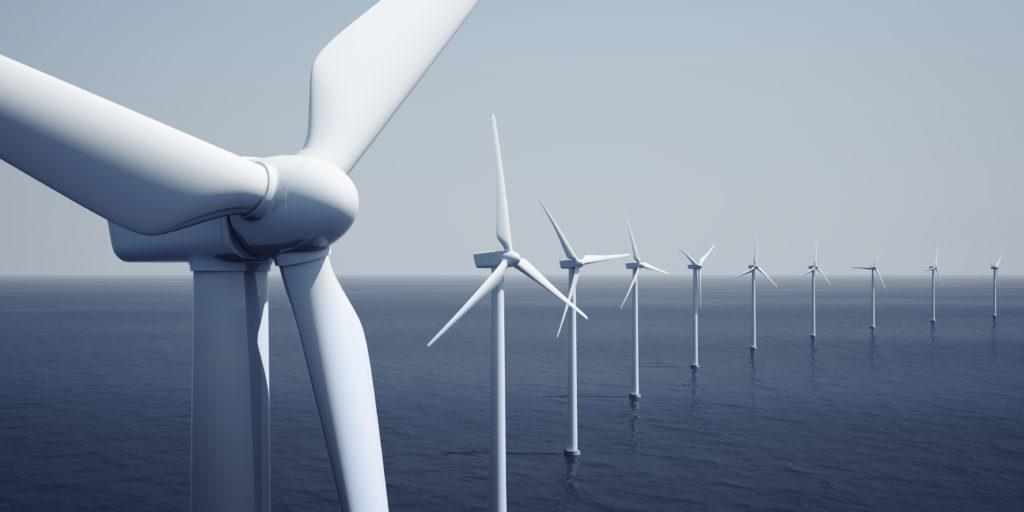 Off-Shore Windpark: Windenergie sorgt für gutes Klima