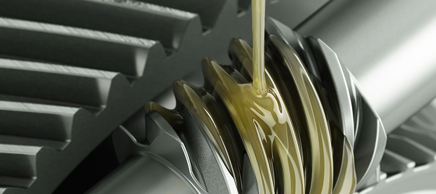 Schmierstoff: Schmieröl auf Getriebe